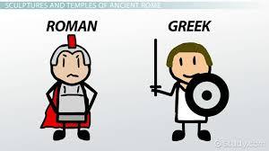 Hellenistic Culture And Roman Culture Venn Diagram Answers Comparing Roman Greek Temples Sculpture