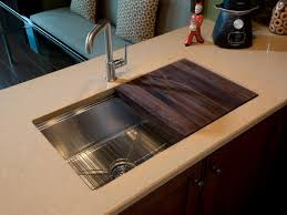 kitchen sink with sliding cutting board tyres2c