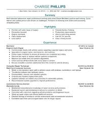 resume technician maintenance automotive technician resume automotive technician resumes vehicle