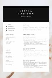 021 Word Resume Templates On Executive In Valid Of Template