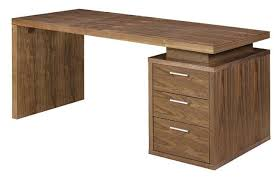 Contemporary Modern Office Furniture Awesome Gregoire Walnut Modern Office Desk Contemporary Office Desk