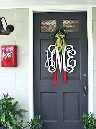 christmas office door decoration. Unique Christmas Door Decorations Front Monogram  For Classroom Office Decorating . Decoration