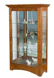 Amish Home Place - Handcrafted Dining Furniture China Cabinet Curio