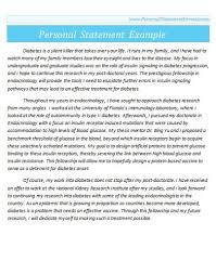 Personal Statement For A Job Format