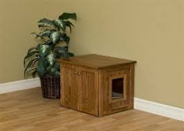 litter box furniture cat enclosed covered. Enclosed Cat Litter Box Furniture 2 Covered A