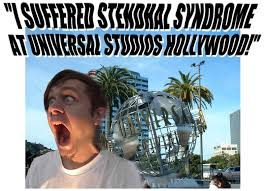 mark allen s i suffered stendhal syndrome at universal studios  mark allen s i suffered stendhal syndrome at universal studios hollywood