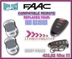 After Marekte Faac Remote ,For Faac Garage Door Openers Locksmith ...
