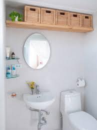 Bathroom: Hanging Basket Racks For Small Bathroom - Bathroom Storage Ideas
