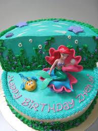 Ariel Cake Decorations Little Mermaid Birthday Cake Ideas Birthday Cakes