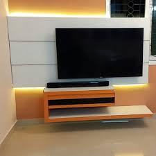 modern wall mounted designer tv unit