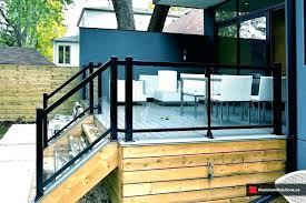 glass deck railing system glass deck railing system aluminum deck railing deck glass deck railing the glass deck railing system