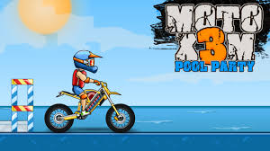 Moto X3M 5: Pool Party - Play Moto X3M 5: Pool Party on Crazy Games