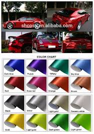 Vinyl Wrap Color Chart Glossy Matte 1 52 30m Heat Color Changing Car Wrap Vinyl Black Red Chrome Vinyl Wrap Buy Black Chrome Vinyl Wrap Red Chrome Vinyl Wrap Glossy