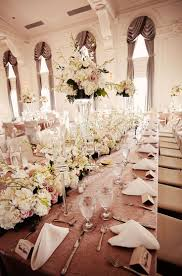 Elegant ballroom decor. Photo by Tara Lokey Photography. www.wedsociety.com  #