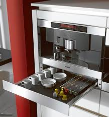 this was my first dream machine. a built in Miele capable of brewing coffee,