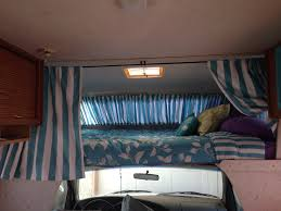 Privacy Curtain For Bedroom Privacy Curtains For The Over Cab Bed Area My Rv Redecorating