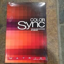 Matrix Colorsync Hair Color Sync 5 Sheer Acidic Toners All