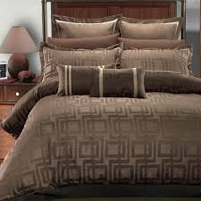 chocolate colored bedding bedroom modern geometrical pattern for chocolate beddi on comforter aqua queen bed sheets
