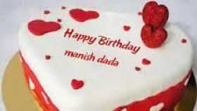 Happy Birthday Cake Images Manish T Shirt Design 2018