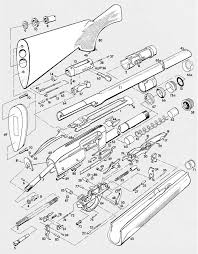 Model 1100 exploded view remington model 1100 pinterest guns rh pinterest remington 1100 parts diagram remington 1187 disassembly instructions