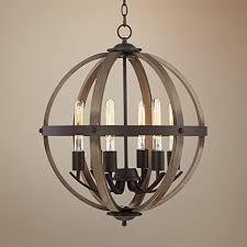french iron rectangular chandelier orb chandelier wood pendant light fixture wood metal globe chandelier country style dining room light fixtures