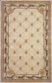 kas jewel fleur de lis antique ivory 310 area rug