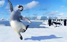 cute baby penguin wallpaper. Modren Baby Happy Dancing Penguin Wallpaper Intended Cute Baby E