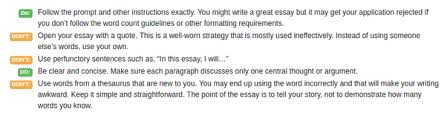 where can i sample scholarship essays quora  and good at the same time everything depends not on what you write but how you write here are also some of the do s and don ts for you to remember