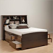 Get Quotations  Prepac Manhattan Tall Double / Full Bookcase Platform Storage  Bed in Espresso Finish