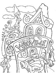Coloring Pages For Coloring Pages The Grinch Coloring Page Coloring