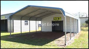 Steel Utility Carport Storage Steel Garages Carport Empire