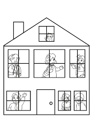 Kleurplaat Huis 7684 Kleurplaten