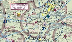 Virginia Aeronautical Chart Lynchburg Regional Airport Lyh