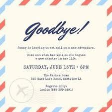 Farewell Party Invitation Card Design Cricut Pinterest