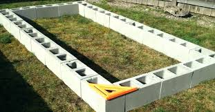 concrete block raised garden bed concrete block garden raised garden bed cinder block concrete block garden