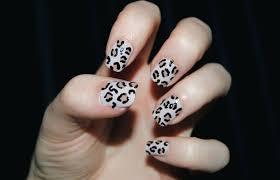 Cheetah Nail Art Designs The Home Design : Super Cute Cheetah Nail ...