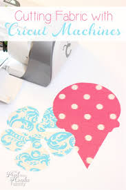 Cutting Fabric with Cricut Machines &  Adamdwight.com