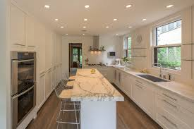 fantastic transitional kitchen marble kitchen counter features open shelving kitchen with white kitchen cabinets with open shelve kitchen