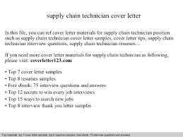 supply technician resume sample supply chain technician cover letter 1 638 jpg cb 1412027028