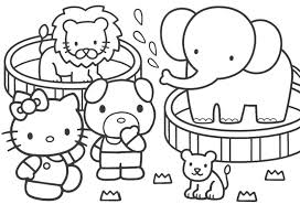 Zoo Coloring Pages For Girls Free Printable Coloring Pages For