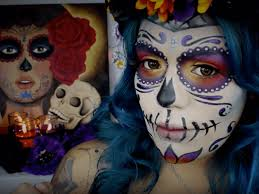 mexican day of the dead make up