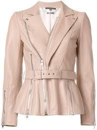 alexander mcqueen zip up leather jacket pink purple 6810 women clothing jackets puma alexander mcqueen sneakers alexander mcqueen bags uk