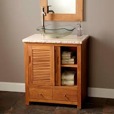 revolutionary sliding door bathroom vanity ideas glass vessel sink and graniter countertop on