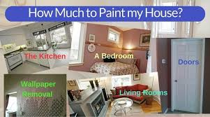 cost of painting home interior how much do