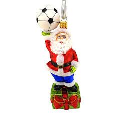 Die Kleine Geschenkidee Weihnachtsmann Mit Fußball Hanco