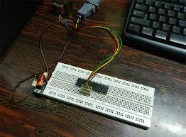 isp programmer burner circuit diagram for avr atmega micro isp programmer connection arrangement