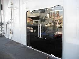 product details frameless glass pivot doors