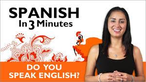 learn spanish do you speak english