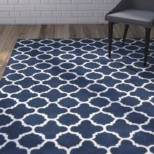 area rugs wilkin circle dark blue ivory area rug