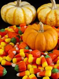 halloween candy corn pumpkin. Modren Pumpkin Halloween Candy Corn And Pumpkin Candies On Black Background Stock Photo   15565958 Intended Candy Corn Pumpkin